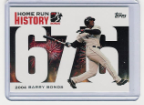 2006 Topps Barry Bonds Home Run History #676