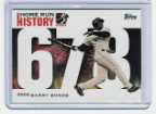 2006 Topps Barry Bonds Home Run History #678