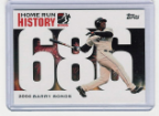 2006 Topps Barry Bonds Home Run History #686