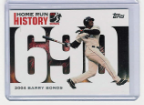 2006 Topps Barry Bonds Home Run History #690