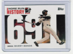 2006 Topps Barry Bonds Home Run History #691