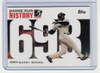 2006 Topps Barry Bonds Home Run History #693