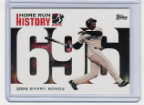 2006 Topps Barry Bonds Home Run History #696