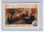 2006 Topps Declaration of Independence-Roger Sherman