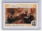 2006 Topps Declaration of Independence-William Paca