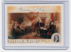 2006 Topps Declaration of Independence-William Williams