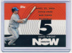 2007 Topps Generation Now #151 David Wright