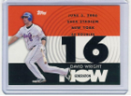 2007 Topps Generation Now #162 David Wright