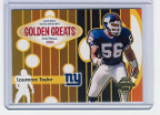 2005 Topps Gold Greats #04 Lawrence Taylor