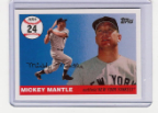2006 Topps Mickey Mantle HR#024