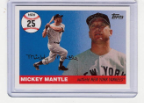 2006 Topps Mickey Mantle HR#025