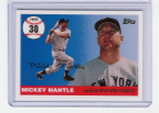 2006 Topps Mickey Mantle HR#030