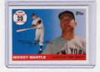 2006 Topps Mickey Mantle HR#039