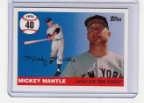 2006 Topps Mickey Mantle HR#040