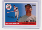 2006 Topps Mickey Mantle HR#048