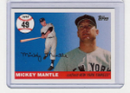2006 Topps Mickey Mantle HR#049