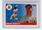 2006 Topps Mickey Mantle HR#080