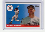 2006 Topps Mickey Mantle HR#082