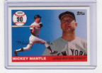 2006 Topps Mickey Mantle HR#090