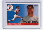 2006 Topps Mickey Mantle HR#094
