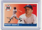 2007 Topps Mickey Mantle HR#203