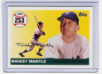 2007 Topps Mickey Mantle HR#253