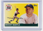 2007 Topps Mickey Mantle HR#258
