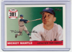 2007 Topps Mickey Mantle HR#301