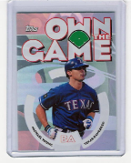 2006 Topps Own The Game #02 Michael Young