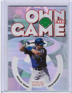 2006 Topps Own The Game #07 Michael Young