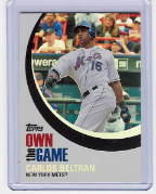 2007 Topps Own The Game #09 Carlos Beltran