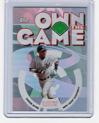 2006 Topps Own The Game #18 Derek Jeter