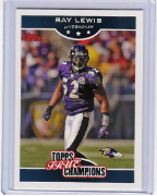 2006 Topps True Champions #10 Ray Lewis