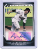 2011 Topps Pro Debut #SSA-RA Ryan Adams Auto