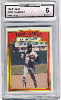 1972 Topps #300: Hank Aaron In Action GAI 6 (EX-MT)