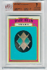1972 Topps Babe Ruth Award Card BVG 7. Near Mint