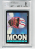 1985 Topps Warren Moon RC BGS 9 Mint