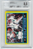 1986 Topps Dan Marino Team Leaders BGS 8.5 Near Mint/Mint+
