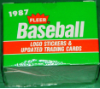 1987 Fleer Baseball Update Set
