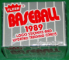 1989 Fleer Baseball Update Set