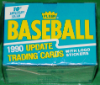 1990 Fleer Baseball Update Set