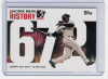 2006 Topps Barry Bonds Home Run History #672