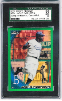 2010 Topps Chrome Jackie Robinson Wrapper Redemption Green Refractor RC SGC 98 Gem Mint
