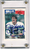 1987 Topps Jim Kelly Rookie Card   Autographed!