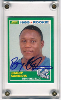 1989 Score Barry Sanders Rookie Card  Autographed!