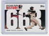 2006 Topps Barry Bonds Home Run History #663