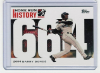 2006 Topps Barry Bonds Home Run History #664