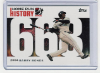 2006 Topps Barry Bonds Home Run History #668