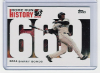 2006 Topps Barry Bonds Home Run History #669